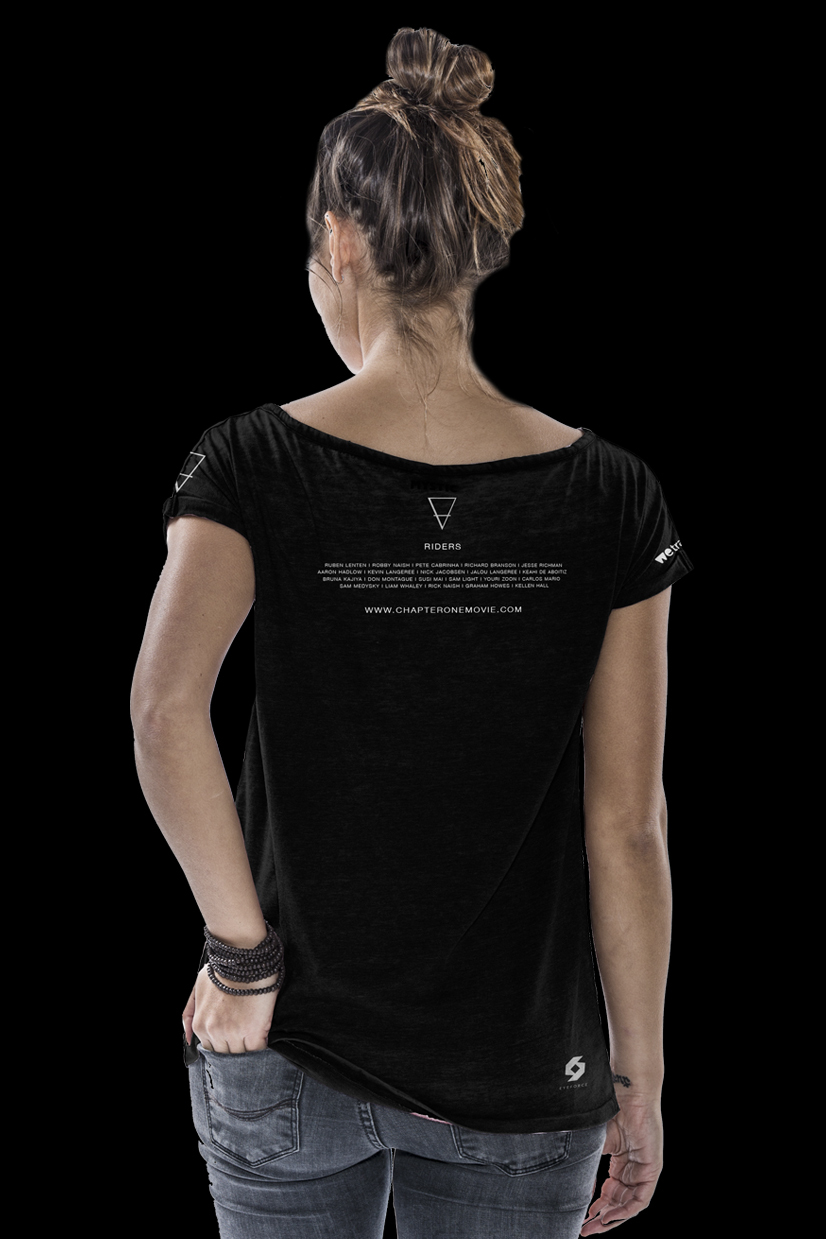 Chapterone Shirt Woman Back Black Image